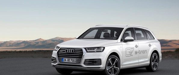 The new Audi Q7 e-tron 3.0 TDI quattro