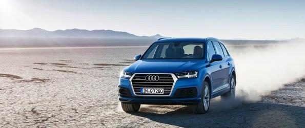 New Audi Q7 under starter's orders