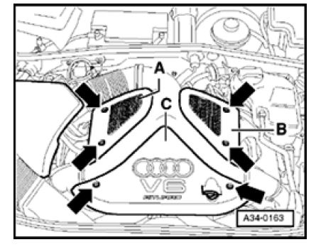 audi s4 rs4 b5 how to remove the engine rh audihowto com audi s4 b5 engine diagram 2005 audi s4 engine diagram