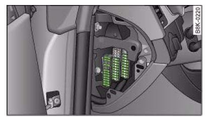 Audi_A4_B8_fuse_box_diagram_location audi a4 b8 (2007 to 2015) fuses list and amperage 2011 audi a4 fuse box diagram at bakdesigns.co