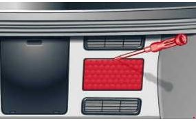 3- fuse box in the luggage compartment (trunk)