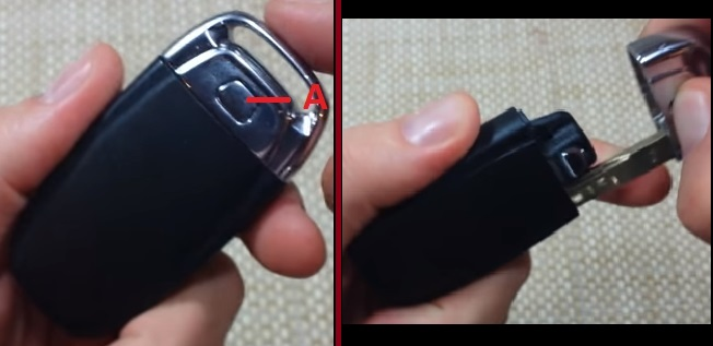 How to replace remote fob battery in Audi A3, A4, A5, A6, Q5, Q7
