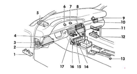 2005 Audi A6 Radio Fuse Box Wiring Diagram