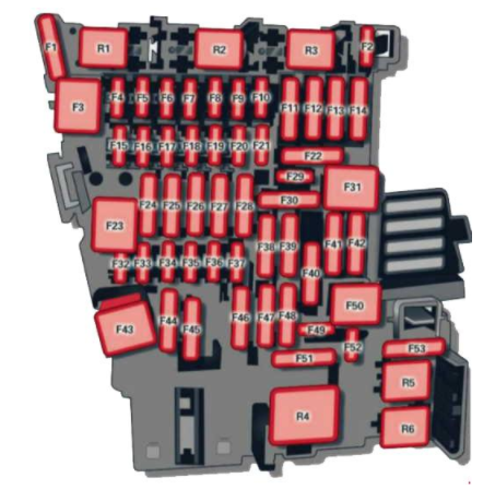 Audi A3 Fuse Box - wiring diagram on the net  Audi A Fuse Box Diagram on