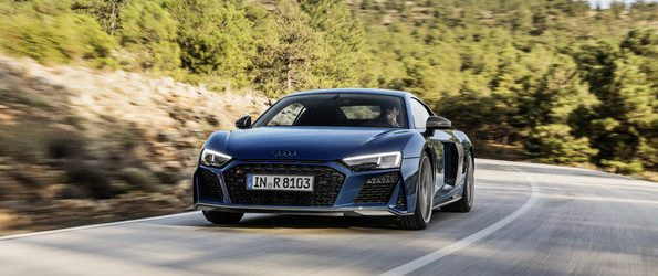 Fastest model is now even hotter: Extensive update for Audi R8