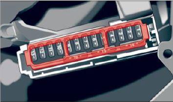 audi a4 b9 fuse box diagram – dashboard driver's side